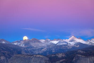SuperMoon, Yosemite Back-Country