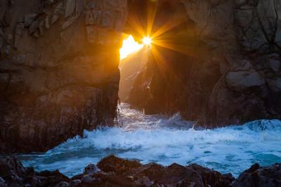 Sunset Majesty - Big Sur
