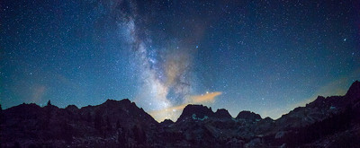 The Milky Way and the Minarets