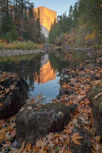 Autumn, El Capitan and the Merced River