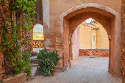 Double Arches at Roussillon, Provence