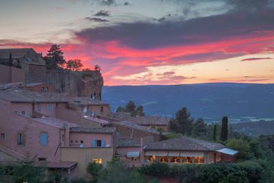 Roussillon at Dusk, Provence