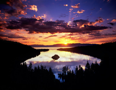 Summer Solstice, Dawn - Emerald Bay