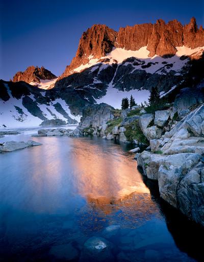 Clyde Minaret and Iceberg Lake