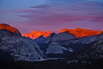 Last Light on Mount Conness