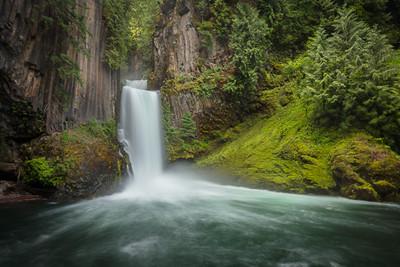 Tokette Falls, Oregon