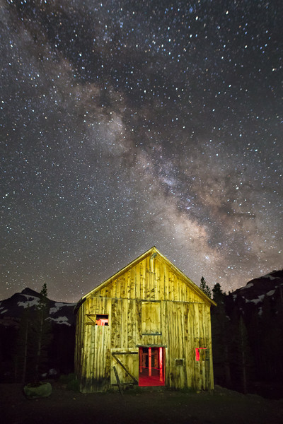 A Moment of the Milky Way in July