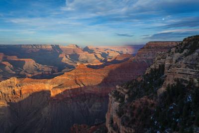 Moonrise, Grand Canyon