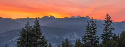 Smokey Minaret Sunset
