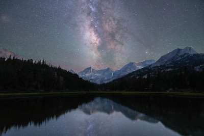A Spiritual Milky Way Evening