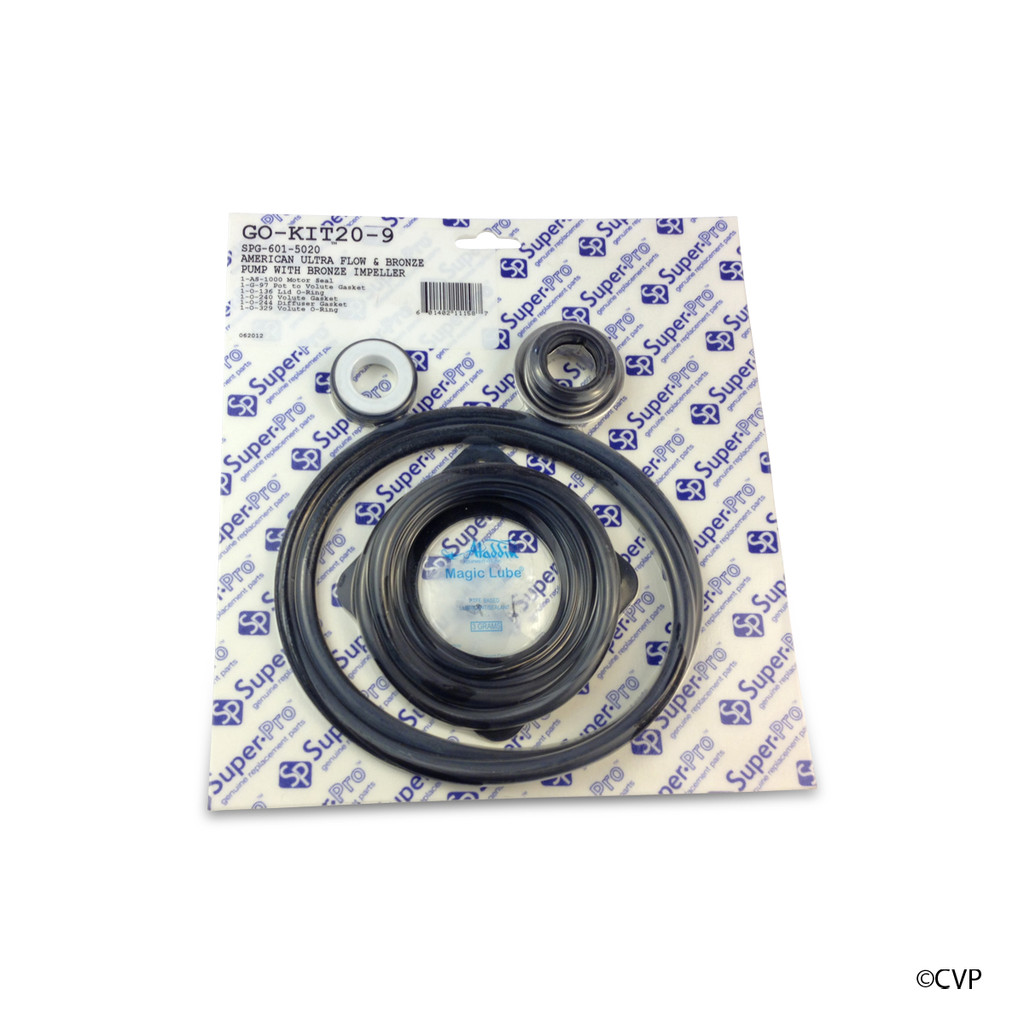 ALADDIN | PENTAIR AMERICAN ULTRA FLOW PUMP | COMPLETE SEAL KIT | GO-KIT20-9