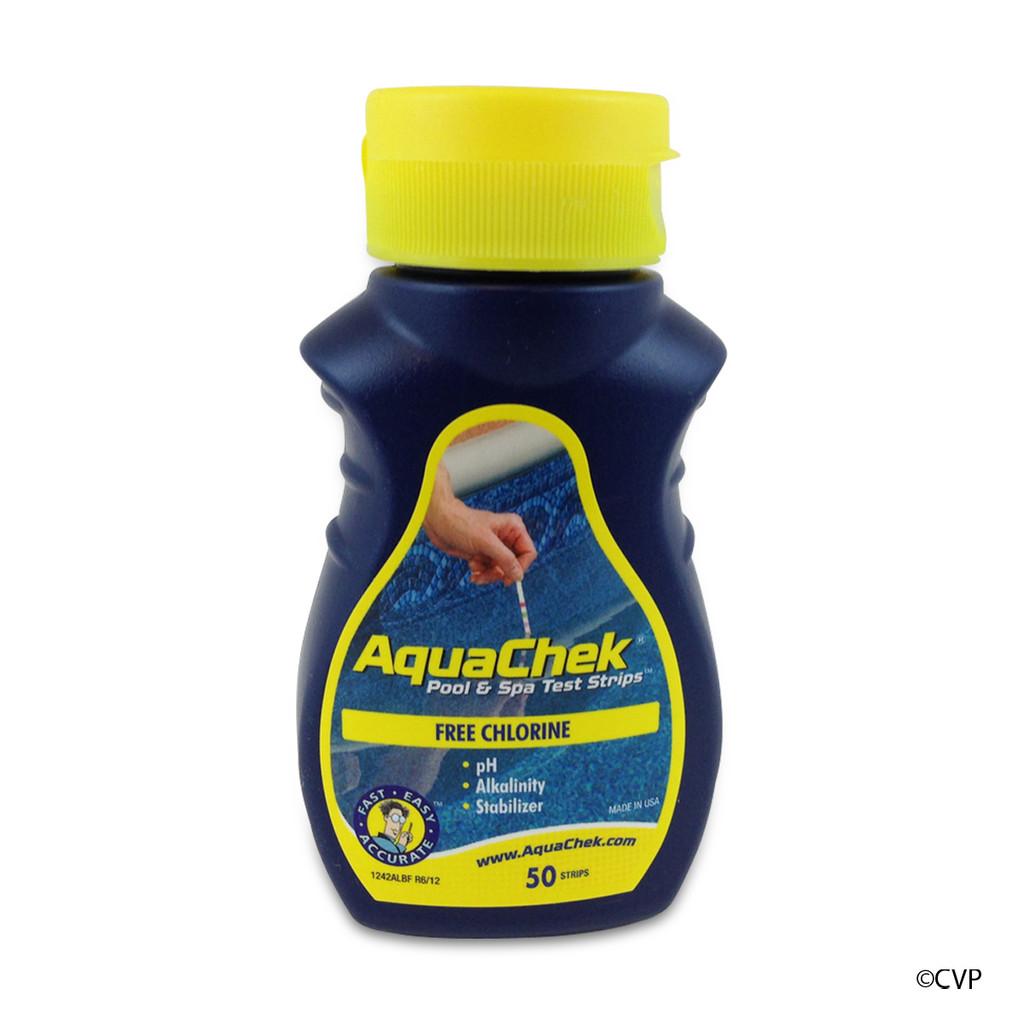 AQUA CHEK | AQUACHEK YELLOW TEST STRIPS 4-1 CHLORINE | AQUA CHEK | AQUA CHECK | 511242A | 511242