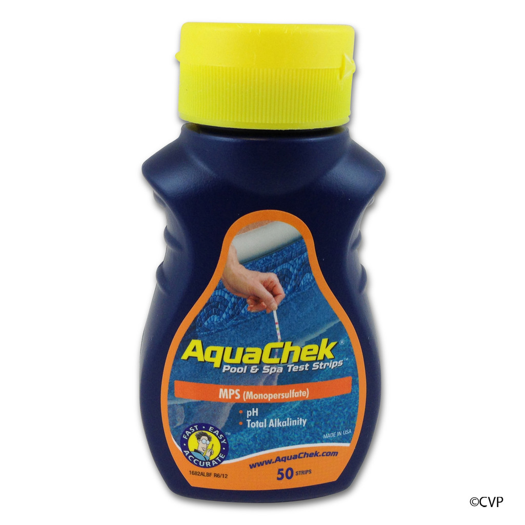 AQUA CHEK | AQUACHEK MONOPERSULFATE 3-1 TEST STRIPS M/PH/ALK | AQUA CHEK | AQUA CHECK | 561682A | 561682