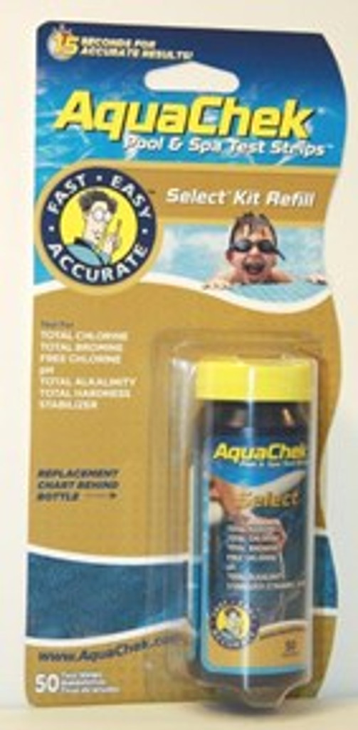AQUA CHEK | AQUACHEK SELECT TEST STRIPS 7-1 REFILL | AQUA CHEK | AQUA CHECK | 541640A | 54164