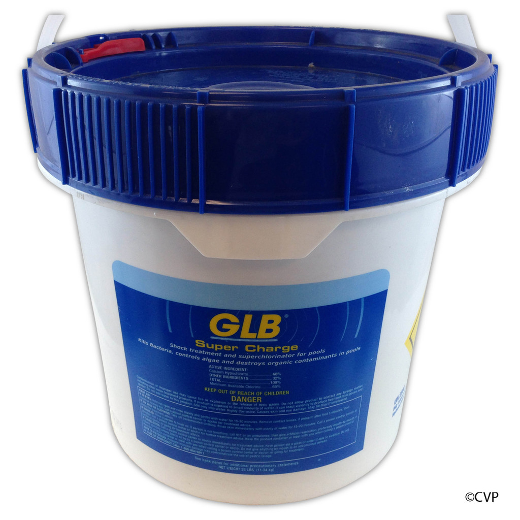 APPLIED BIO CHEMICALS | 25# CAL-HYPO SHOCK | SUPER CHARGE | 71430A