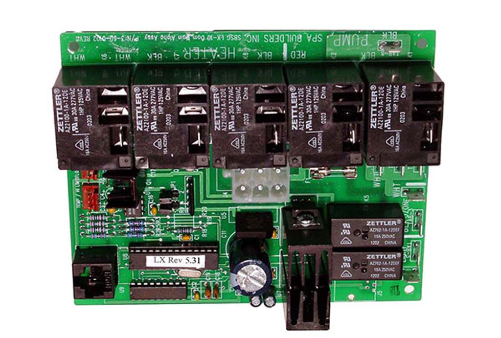Allied Innovations | PCB |  LX-10 ALPHA REV 5.31 | 9920-200973