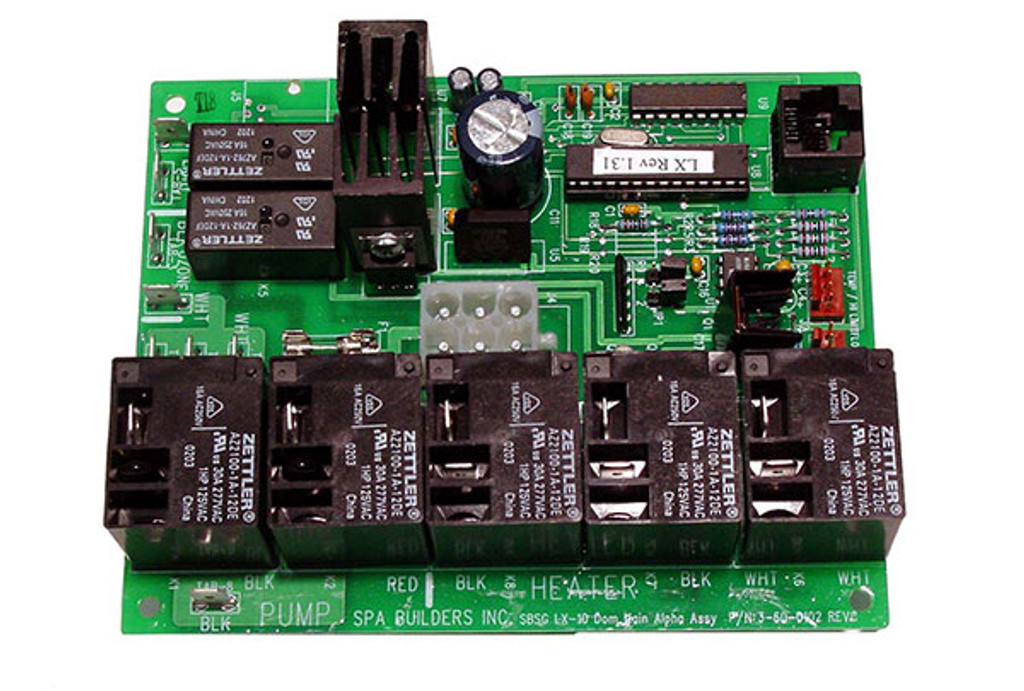 Allied Innovations | PCB | LX-10 NUMERIC REV 1.31 | 6000-218