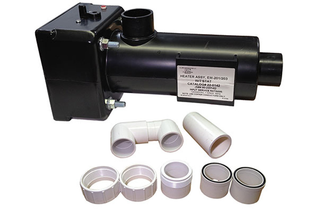 Allied Innovations | HEATER ASSEMBLY | HT-1 EM-201/203 WITHOUT THERMOSTAT | 22-0143