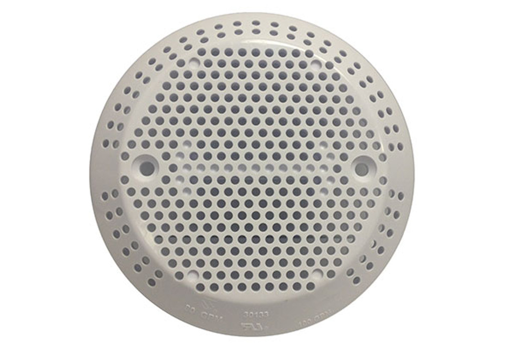 GG Industries 30133-WH White Suction Cover