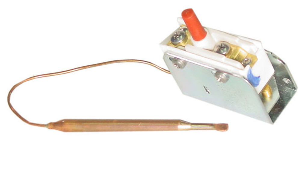"Invensys Appliance Controls | HI LIMIT |  SPST 1/4"" X 3.13"" BULB 6"" CAPILLARY | 275-3254-00"