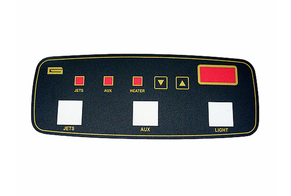Allied Innovations | OVERLAY | LG DIGITAL - 3-BUTTON | 121403
