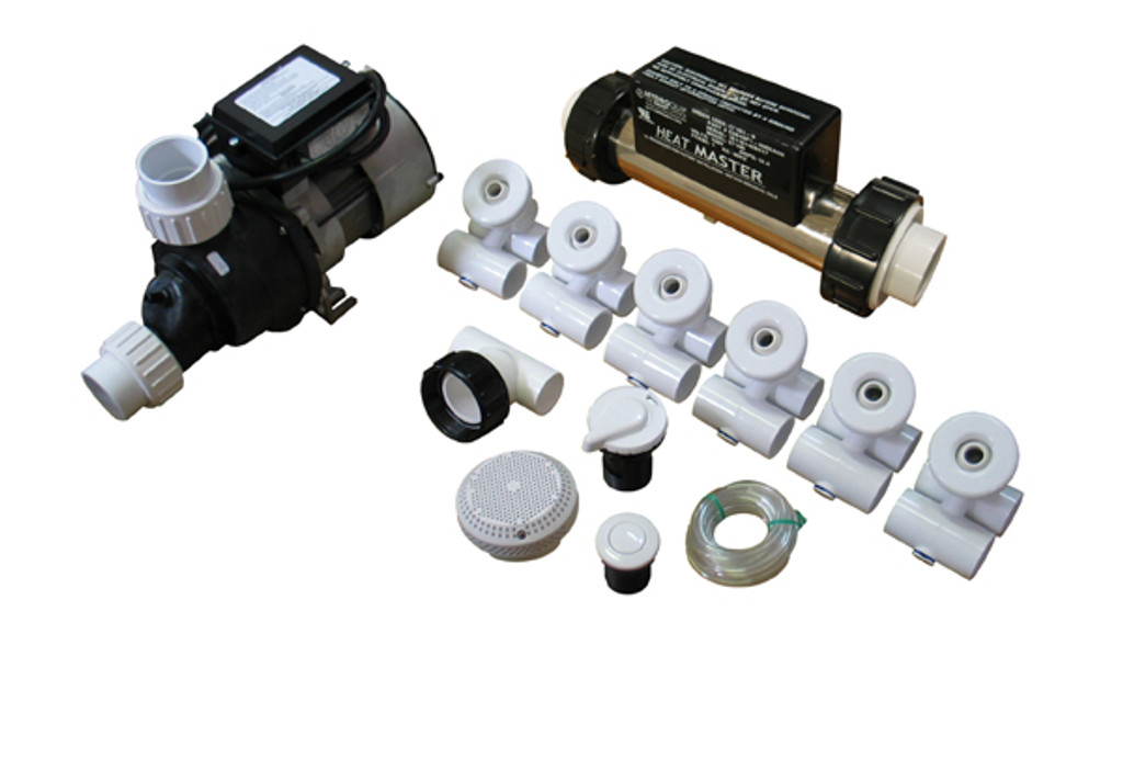Allied Innovations Pump Plumbing Jetted Tub Assembly