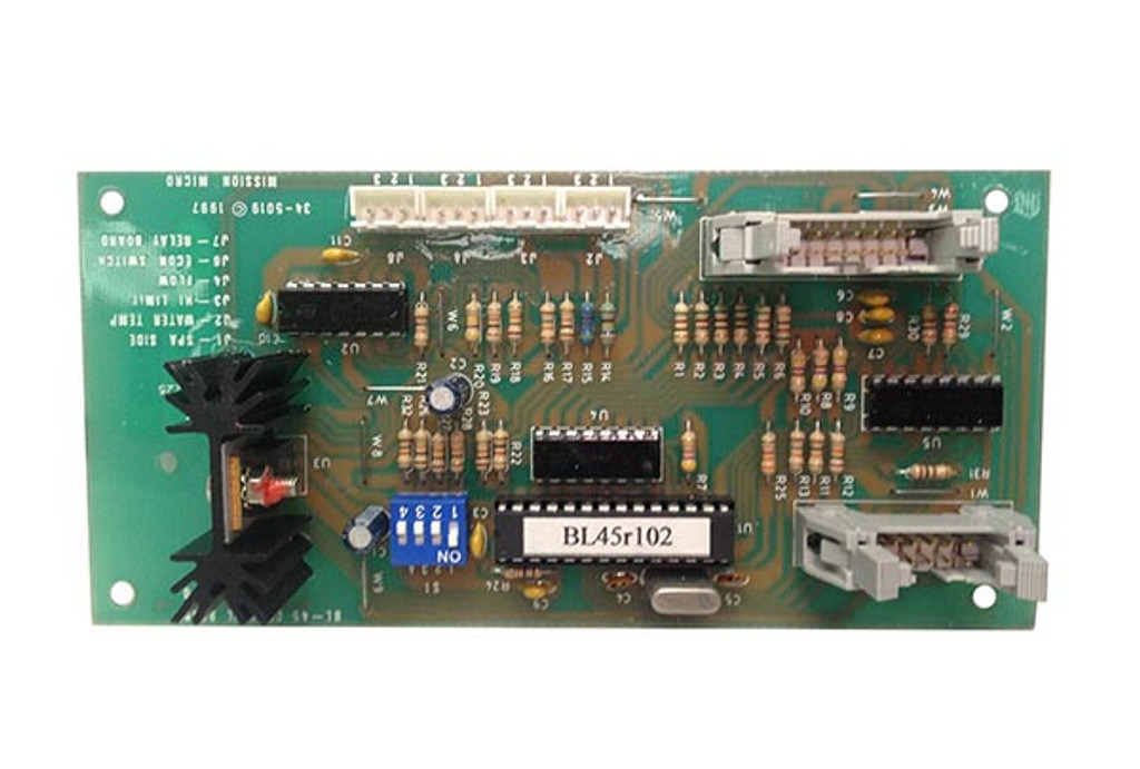 Allied Innovations   PCB   BL45 MAIN CPU   34-5019