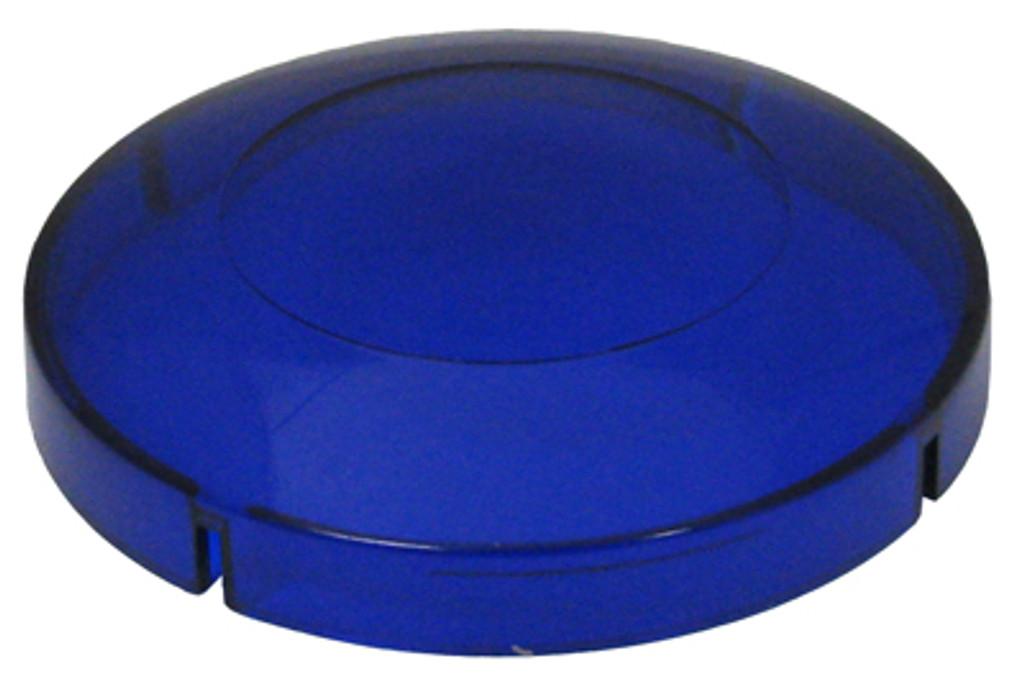 "Allied Innovations | BLUE LENS FOR 2 1/2"" HOLE SIZE 3 3/8"" LENS DIAMETER | 5-30-0093B"