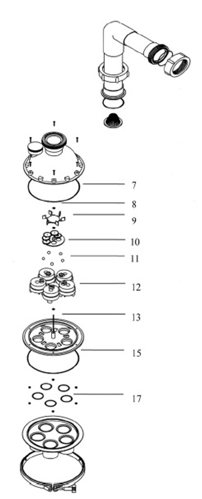 A & A MANUFACTURING | PISTON REPAIR KIT  INCLUDES KEYS, 11, 12, & 15 | 521181
