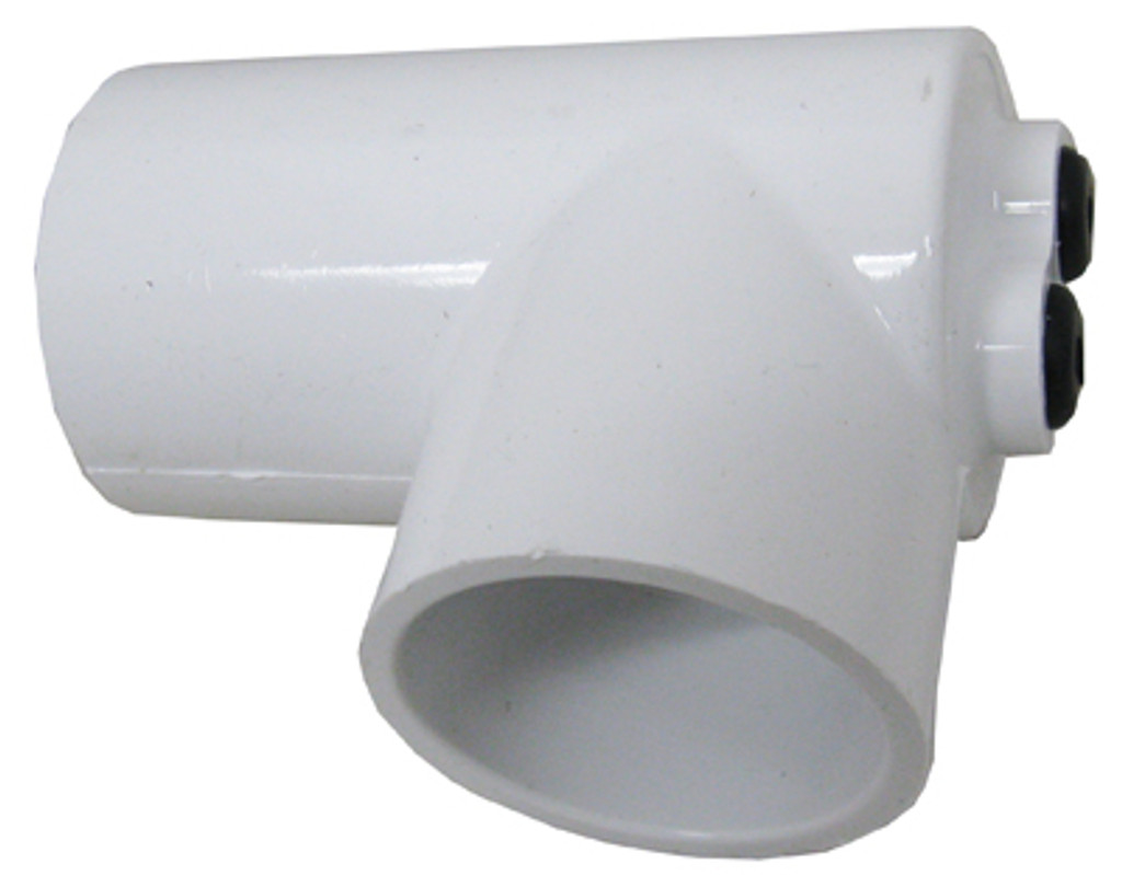 "90 ELBOW, 1 1/2"" SLIP X 1 1/2"" SLIP WITH 2 THERMOWELLS, 5/16"" ID X 4"" LONG 