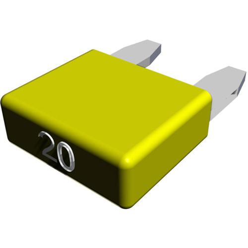 Hayward | AquaRite | AquaRite Pro | AquaPlus | Sense and Dispense | ProLogic | OnCommand | E-Command 4 | Aqua Trol | Fuse Kit, 20A/yellow (10 pack) (all AquaLogic/Rite/Trol after 11/04) | GLX-F20A-10PK