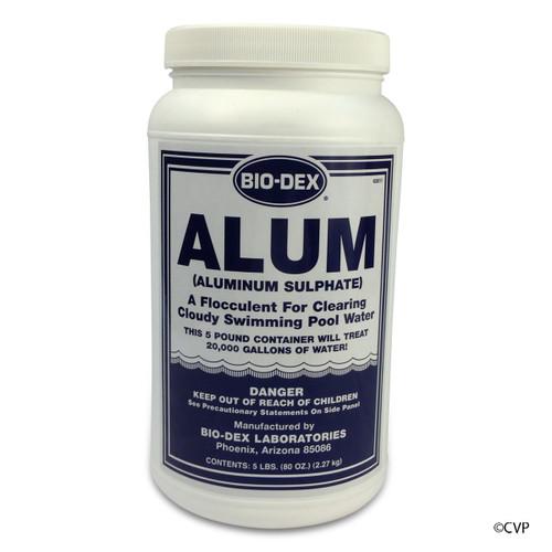 BIO-DEX CHEMICALS | 5# ALUM | AL125
