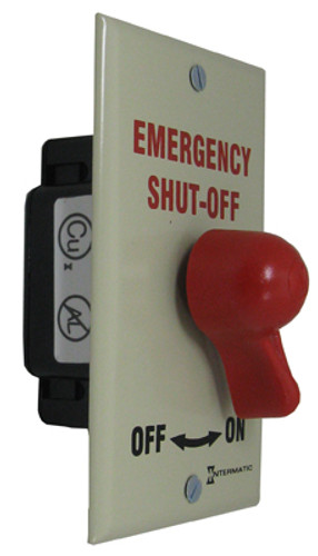 INTERMATIC | EMERGENCY SHUT OFF SWITCH | PA600