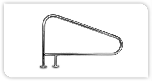 INTER-FAB | HANDRAIL DM WITH BRC 3 BEND EARTH | D3BD049-3 (D3BD049-3)