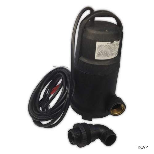 SUMP PUMPS | SUBMERSIBLE POOL AND SPA SUMP PUMP | .5HP 4K GPH | WATERFALL | PW4500