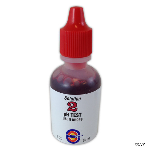 PENTAIR | TEST KIT SOLUTION PH RED 1 OZ, PHENOL | R161094