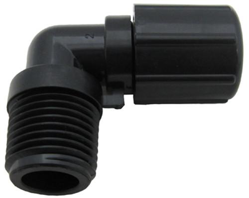 Pentair | Rainbow Automatic Feeder | Î_ in. 'ÛÎã 90Î_ NPT 'ÛÎã tube fitting with nut | R172272