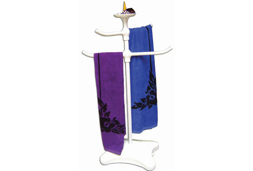 Oreq Corp | TOWEL TREE WITH TOP TRAY | Z225