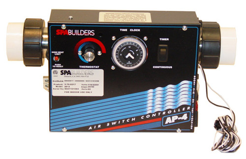 Spa Builders by Allied Innovations | CONTROL | AP-4 120/240V WITH HEATER 5.5KW & TIME CLOCK | 3-70-0217