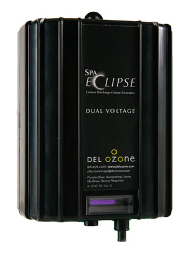 Del Ozone | OZONE GENERATOR | OZONE-ECLIPSE CD DUAL VOLTAGE WITH AMP CORD | ECS-1RPAM2-DV