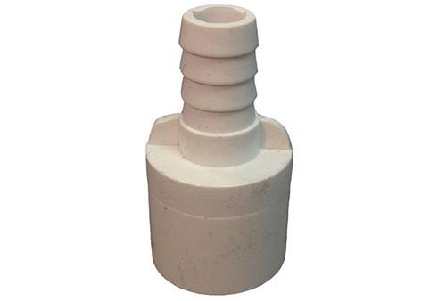 "Waterway | PVC ADAPTER | 1/2"" SPIGOT X 3/8"" RIBBED BARB | 425-0210"