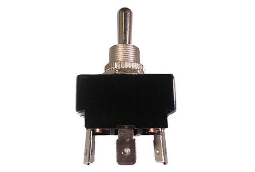 Generic | TOGGLE SWITCH | 20AMP - DPDT - METAL - CENTER OFF | 34-0223