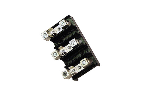 Allied Innovations | TERMINAL BLOCK | 3 POSITION 14-4 AWG 50A 110/220V | ERB44K