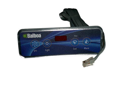Balboa Water Group | TOPSIDE | VL403 LED 4 BUTTON JET/LIGHT/COOL/WARM | 54664