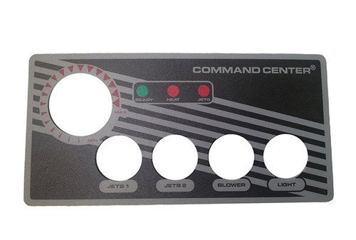 Tecmark (TDI) | OVERLAY | COMMAND CENTER - 4-BUTTON - WITHOUT DISPLAY | 30202BM