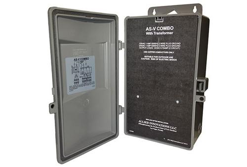 Len Gordon | CONTROL | AS-V COMBO, 120/240V, WITH TRANSFORMER, 24V Rev - B2012 | 921450-012