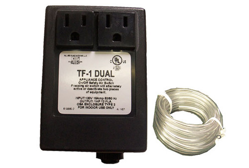 Len Gordon   CONTROL   TF-1 DUAL 120V 1HP PACKAGE WITHOUT BUTTON   910860-001