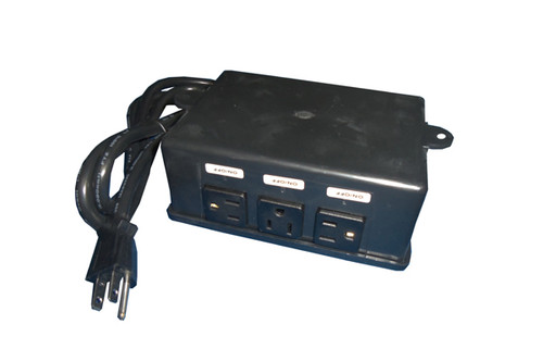 Allied Innovations   CONTROL   ES-4P 120V 4-OUTLET WITHOUT BUTTON OR TUBING   923200-003
