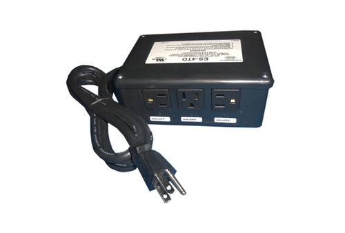 Allied Innovations | CONTROL | ES-4TD 120V 4-OUTLET WITHOUT BUTTON OR TUBING | 923225-003