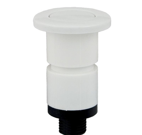 "Pres Air Trol | Gunite Air Button, 1"" White 